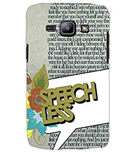 SAMSUNG GALAXY J1 SPEECH LESS Back Cover by PRINTSWAG