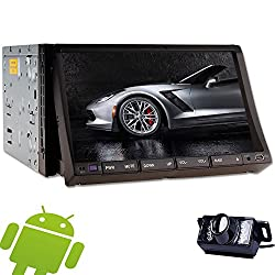 See Capactive Touch Screen 4.2 Android System Double 2 Din In Dash Head Deck 7