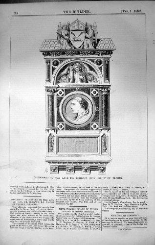costruttore-1862-di-architettura-di-dott-browne-bishop-elphin-irlanda-del-monumento
