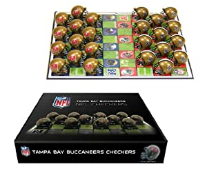 Tampa Bay Buccaneers Checker Set by Rico