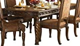 Dark Brown Dining Room Extension Table