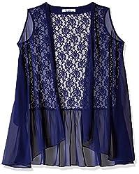 Soie Women's Cardigan (6314N.BLUE_Medium)
