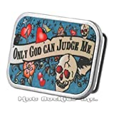 Only God Can Judge Me Tattoo Belt Buckle