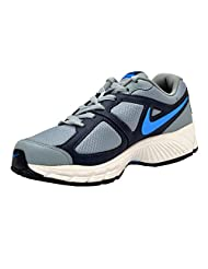 Nike Men's Air Profusion II Magnet Grey And Mid Navy Blue Running Shoes