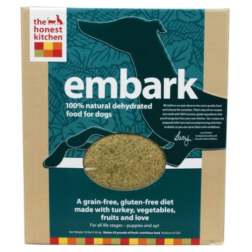 Honest Kitchen Embark Low Carb Grain Free Dehydrated Raw Dog Food W Turkey 10lb From The
