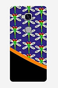 ZAPCASE PRINTED BACK COVER FOR Huawei Honor 5X - Multicolor