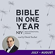NIV Audio Bible in One Year (Jul-Aug): Read by David Suchet Performance Auteur(s) :  New International Version Narrateur(s) : David Suchet, Jane Collingwood