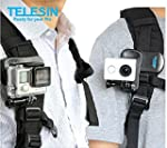 TELESIN Backpack Rec-mounts Clip Fast...