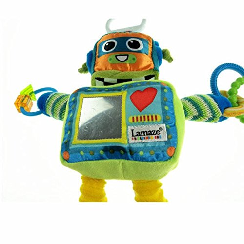 Robot Take Along Toy Early Development Toy Baby Rattle Children Toy Product front-1030862