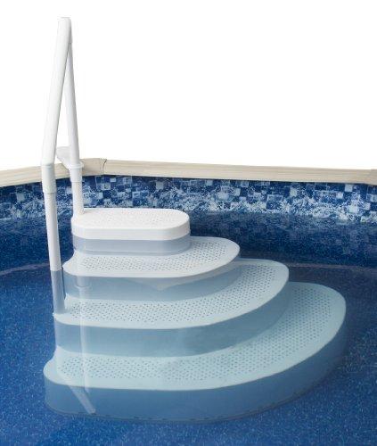 Swim Time Ne100wh Wedding Cake Above Ground Pool Step