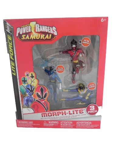Power Rangers Samurai Morph-Lite Action Figure 3 Pack. - 1
