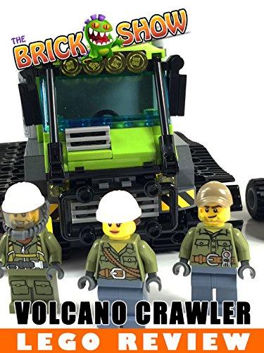 LEGO City Volcano Crawler Review (60122)