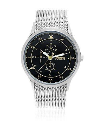 AVIADOR Reloj con movimiento japonés Av-1097  44 millimeters
