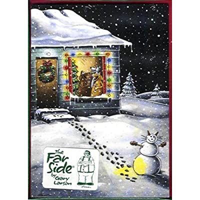 Far Side Christmas Cards Boxed Set (Dogs): Gary Larson: Amazon.com: Books