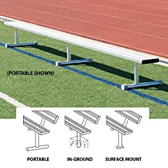 Buy (Price EA)SSG BSN 15' Permanent Bench w o Back - 15'L - In ground design by SSG