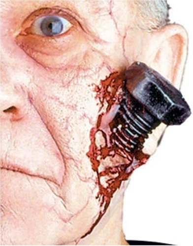 EZFX Bloody Bolt Makeup and Prosthetic Costume Kit