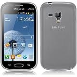 Coque Ultra Fine en Gel Flex TPU pour Samsung Galaxy TREND - Collection Transparent - Blanc par PrimaCase