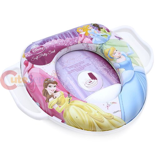 Disney Princess Potty Toilet Seat Cover with Handle