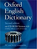 Oxford English Dictionary, 2nd Edition, Version 4.0 (Windows & Mac) (CD-ROM)