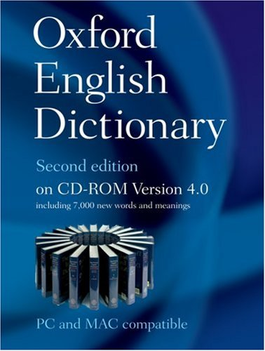 Oxford English Dictionary, 2nd Edition, Version 4.0 (Windows & Mac)From Oxford University Press