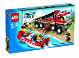 LEGO City 7213 Off-Road Fire Truck & Fireboat