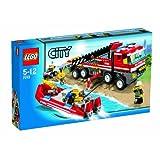 Lego - 7213 - Jeu de Construction - Lego City - Le Camion Tout-terrain et le Bateau des Pompierspar LEGO