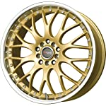 Drag D19 Gold Wheel (17×7.5″/5x100mm)