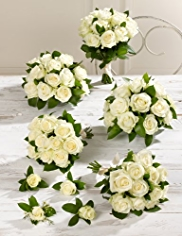 White Wedding Luxury Rose Collection 3
