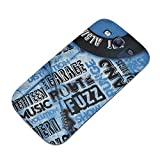 Music 030 Vinyl Record Ultrathin Hard Gel TPU Case Cover Skin Shell Protector with Colourful Design for Samsung Galaxy S3 i9300