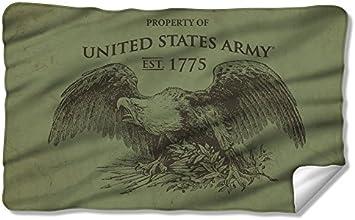 Property Of - US Army - Fleece Throw Blanket