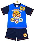 Boys Skylanders Giants Boom Time T-Shirt Top & Shorts Pyjamas Set 4 to 10 Years