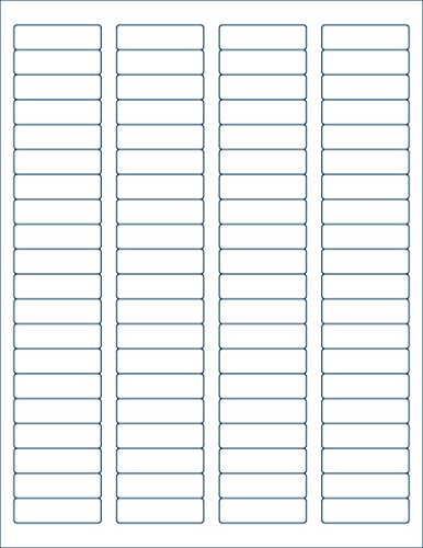 25 sheets dcc u00ae generic white self adhesive return address