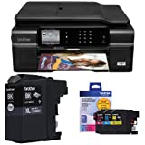 Brother MFCJ870 Wireless Color Inkjet All-In-One and Ink Bundle