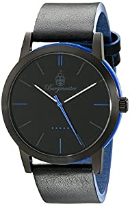 Burgmeister Damen-Armbanduhr Ibiza Analog Quarz Leder BM523-623A