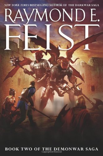 At the Gates of Darkness: Book Two of the Demonwar Saga , by Raymond E. FeistFrom Hardcover