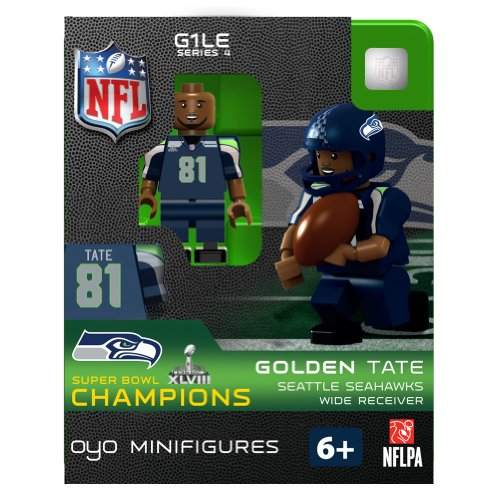 Golden Tate Champ NFL Seattle Seahawks Oyo Series 1 Minifigure at Amazon.com