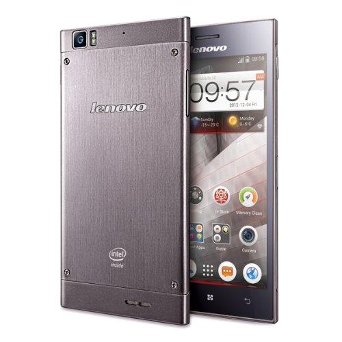 SIMフリーLenovo K900 Android4.25.5インチFull HD-IPS/ Intel Atom 2.0GHzデュアルコアCPU[並行輸入品]モバイルバッテリー国際通話プリカ付