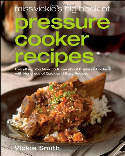 Pressure Cooker Recipe Books