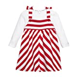 J By Jasper Conran Kids Designer Babies Red Striped Dress And Top Set 3-6 Months