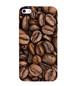 Coffee beans 3D Hard Polycarbonate Designer Back Case Cover for Apple iPhone 5 :: Apple iPhone 5