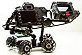 Pico Flex Dolly Kit Digital DSLR Skater Camera Dolly Slider Table Top Dolly Kit by ePhotoInc PICOKIT