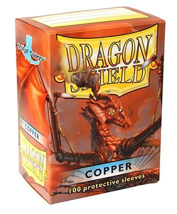 Dragon Shield Sleeves 100 Copper Cards