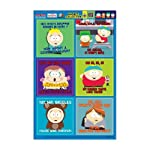 South Park 10th Season Magnet Collection - Set of 6 Magnets