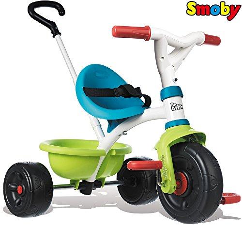 Dreirad Be Move Pop mit Schubstange, Kippwanne, verstellbarem Sitz, Gurt || Kinder Baby Trike Kinderdreirad Schiebestange ab 15 Monaten