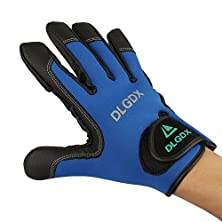 buy Shelure Fishing Gloves Anti-Slip Gloves Men Gloves Outdoor Sports