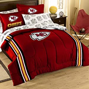Kansas City Chiefs Bed in a Bag Comforter Set by Northwest