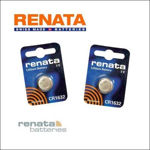 Accessoire type RENATA CR1632, 3.0V, 125mAh, Lithium