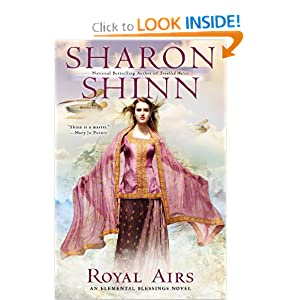 Royal Airs (Elemental Blessings) by Sharon Shinn