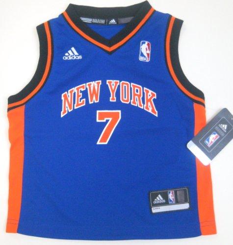 NBA Toddler New York Knicks Carmelo Anthony Away Replica Jersey R24E6Jjm Blue 3T