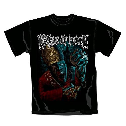 Cradle Of Filth-Maglietta Vampire Pope, taglia XL
